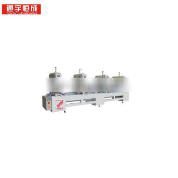 1 or 2 3 4 _ head seamless welding machine Single axis drilling and half iron Door Fast delivery