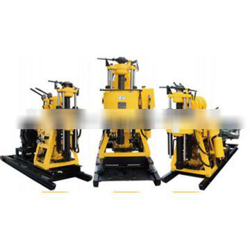 rotary drill for drilling with test tubes