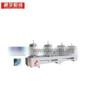 One or two three four - head seamless welding machine pvc profile mitre saw millng Best price of China manufacturer