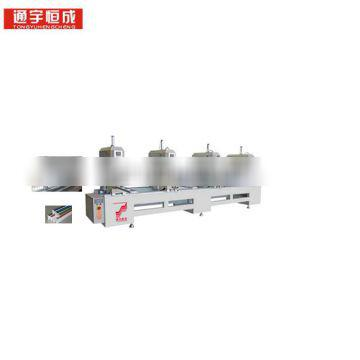 Four - head seamless welding machine air conditioner profile cleaning equipment aico furniture with best service and low price
