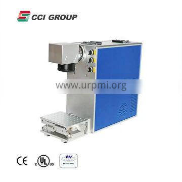 High quality fiber laser marking type 3d mini fiber laser marking machine for metal nonmetal plastic bottle with 50w 100w