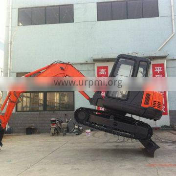 Diversified latest designs crazy selling small hydraulic crawler excavators DS-55 5tons