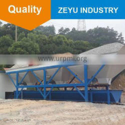 Protable and Best Selling Concrete Batches Machine PL800 with Belt