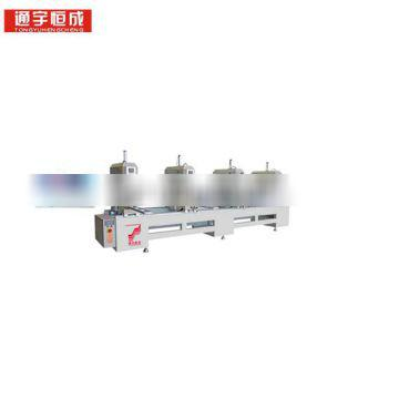 One or two three four _ head seamless welding machine interior french doors sliding door in China