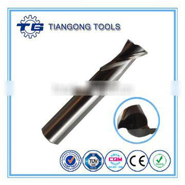 TG OEM HSS End Mill For Aluminum Cutting