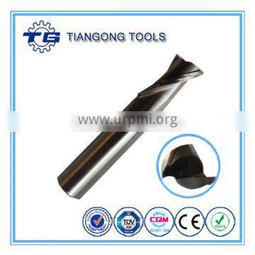 TG ANSI M35 fully ground two flutes 9/16 end mill