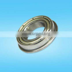 MF117ZZ Metric high precision excellent quality flanged deep groove ball bearing