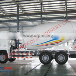2016 Best selling 9m3 concrete mixer for construction machinery