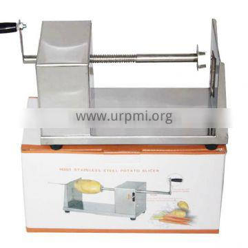 Healthy food grade manual curly fries cutter