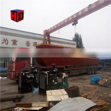 Customized New Type Jet Sand Pumping Jet Suction Dredger for sale