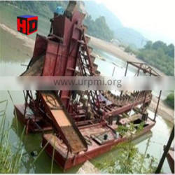 Chinese Factory Price Sand Gold Chain Bucket Dredger for Sale