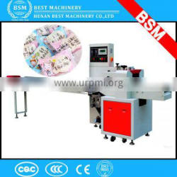 Fully automatic flowpack ice candy packing machine / double twist candy wrapping machine