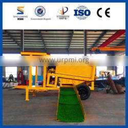 SINOLINKING Movable Separate Mini Gold Trommel for Sale