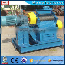 Dry rubber hammer mill machine in impact type