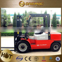 brand new forklift YTO bale clamp forklift CPCD40 with japan engine