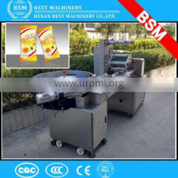 Zambia best price auto pillow dry fruit packing machine / jelly candy packing machine