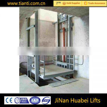 CE certification hydraulic cargo lift and goods lift for sale