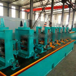 Comparative price welded round,square and rectangle steel tube milling making machine production line