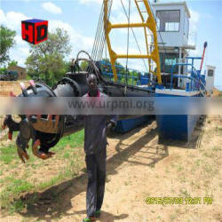Small gold dredge and sand pumping small dredger for sale