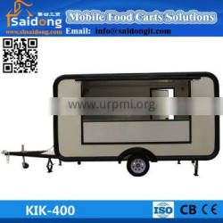Electric Tricycle Food Cart Vending Mobile Food Cart With Wheels/Stainless Steel Food Carts