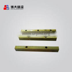 China suppliers crusher attachment parts C125 wedge fit for metso Nordberg