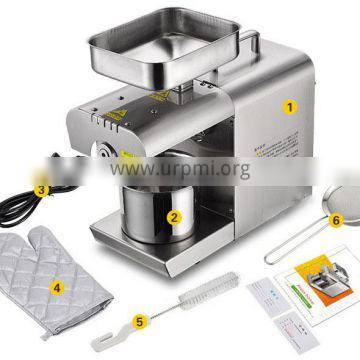 Cold Pressed Sesame Seed Groundnut Oil Extraction Machine