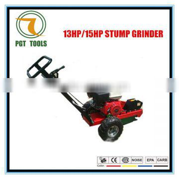 13HP/15HP Hot sale gasoline resin tree stump cutter machine