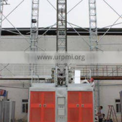 COMPETITIVE PRICE 0~63M/MIN CONSTRUCTION ELEVATOR WITH ISO CERTIFICATE