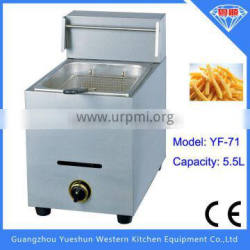 china factory Hot selling high quality desktable commercial gas lpg fryer