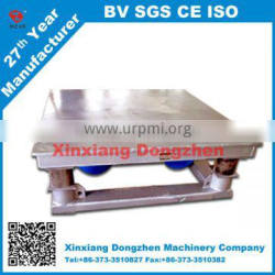 DZ made vibrating shaking table for making vibrating table