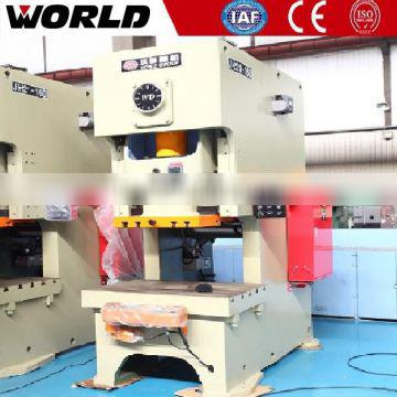 160Ton C-frame fixed bolster stamping machine/mechanical power press