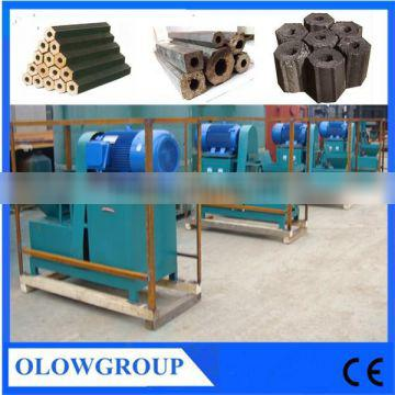 Hot sell wood sawdust peanut shell briquette pressing machine for boiler heating