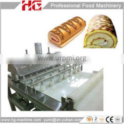 high technology swiss roll and layer cake baking plant