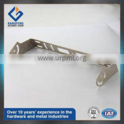 OEM Brushing finish stainless steel stamping parts for telecom component