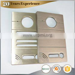 Brushed and Anodized Aluminum Alloy cover for Intercom