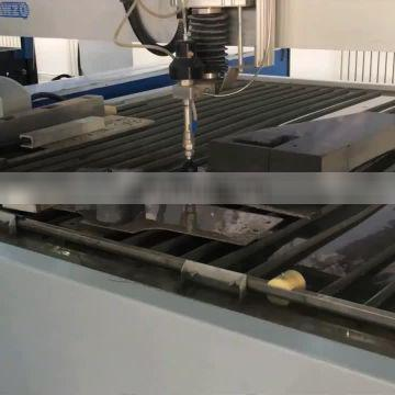China Manufactured Cantilever CNC Water Jet Cutter For Cutting Different Thickness