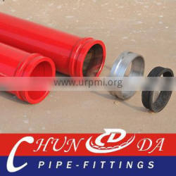 DN125 Concrete pump hardened pipe ( 45Mn2 3M T 4.5 mm)