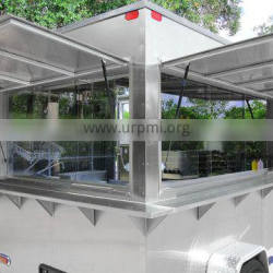 2015 HOT SALES BEST QUALITY food car on street running double-layer stainless steel food car customized food car