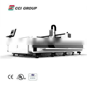 hot sale and low price fiber laser 2000 watt cutting machine from CCI Laser for metal steel