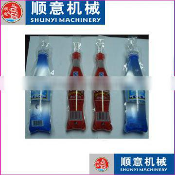 piston tofu and Flavour Instant Drink liquid in shaped pouch/bag/ sachet packaging fill and seal packing machine