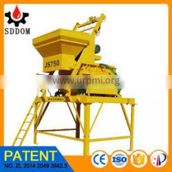 DOM used twin-shaft mixer for sale