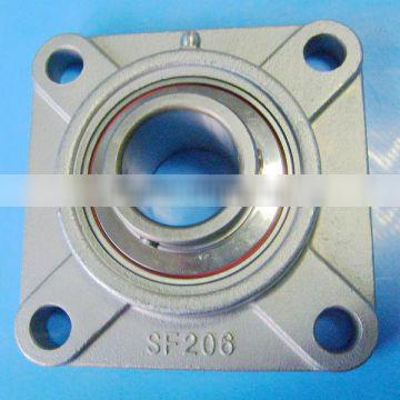 20 mm Stainless Steel Flange Bearing Unit SUCF204 Equivalent SSUCF204 4 Bolt Mounted Bearings
