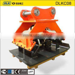 hydraulic compaction plate for excavator