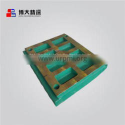 spare parts swing fixed jaw plate P/N MM0512835 apply to Nordberg C120 jaw crusher