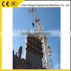 0.77r/min SLEWING SPEED Inner Climbing Tower Crane