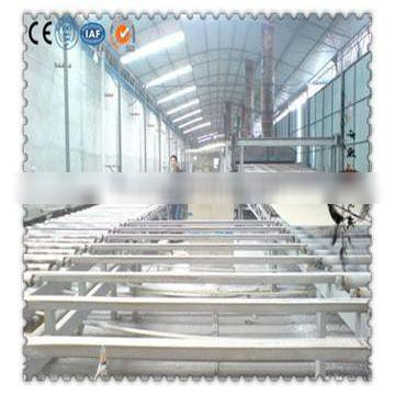 Gypsum board manufacture machinery plant with annual output 1 to 10 million square meters