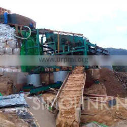 SINOLINKING alluvial vibration screen gold mining machine with gold concentrate machine