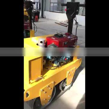 Factory Supply 700KGS Walk Behind Single Drum Behind Road Roller Road Roller