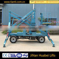 Made in china hydraulic platform CE certification aerial work platform for sale