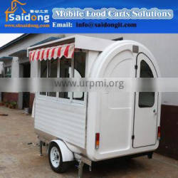OEM&CE ISO9001 approve newly Mobile food fryer cart-snack food trailer for sale